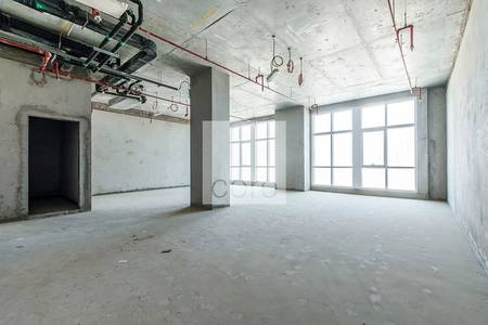 Office for Rent in Business Bay, Dubai - Shell and core offices in Grosvenor Tower