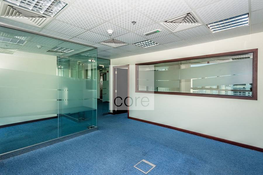 2 Spacious fitted office for rent in Liwa