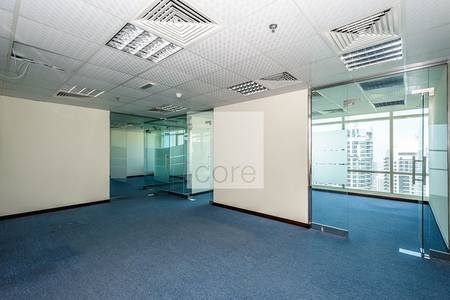 Office for Rent in Jumeirah Lake Towers (JLT), Dubai - Spacious fitted office for rent in Liwa