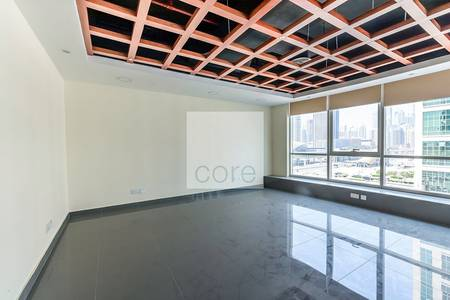 Office for Rent in Jumeirah Lake Towers (JLT), Dubai - Fitted and partitioned office I Low Floor