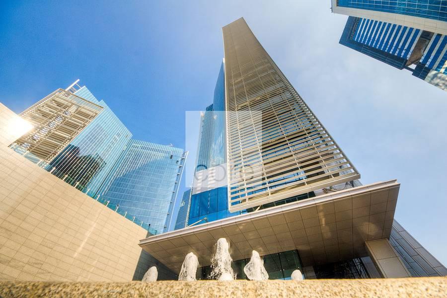 10 Full office floor with Burj Khalifa view