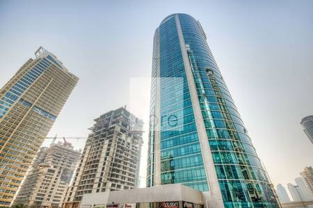 Office for Rent in Jumeirah Lake Towers (JLT), Dubai - Fitted partitioned office | Fortune Tower