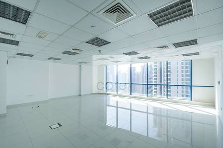 Office for Rent in Jumeirah Lake Towers (JLT), Dubai - Fitted office available  Jumeirah Bay X2