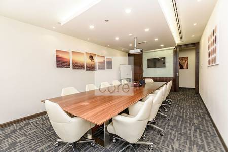 Office for Rent in Jumeirah Lake Towers (JLT), Dubai - Fitted Partitioned Office I Low Floor