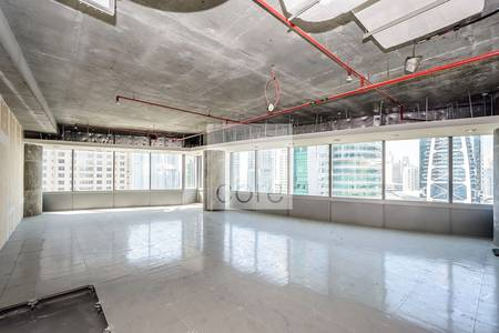 Office for Sale in Jumeirah Lake Towers (JLT), Dubai - Shell and core office available | Silver