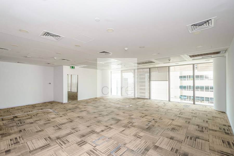 2 Fitted office near the metro |Burjuman