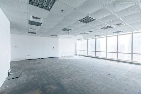 Office for Rent in Jumeirah Lake Towers (JLT), Dubai - Spacious Semi fitted office  Liwa Heights