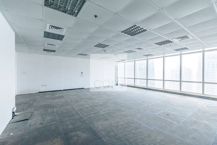 Spacious Semi fitted office  Liwa Heights