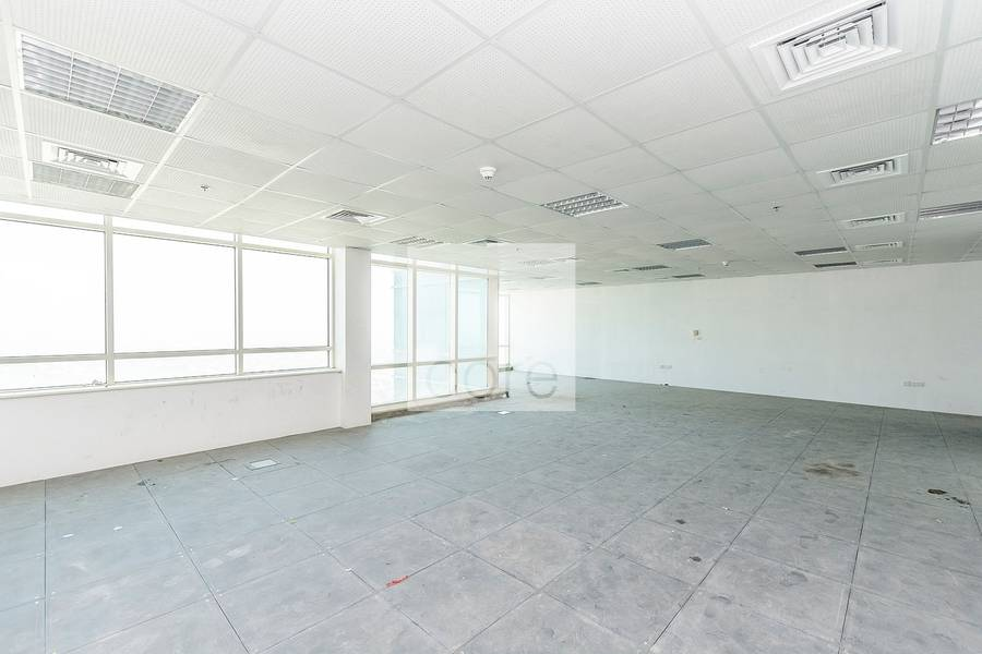 10 Spacious Semi fitted office  Liwa Heights