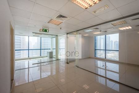Office for Rent in Jumeirah Lake Towers (JLT), Dubai - Fitted and Partitioned Office I Mid Floor