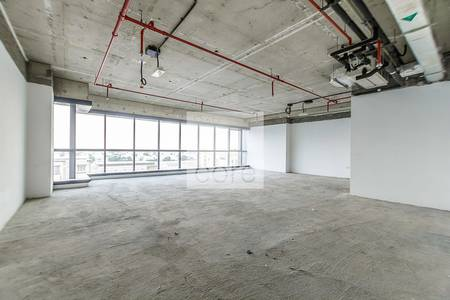 Office for Rent in Jumeirah Lake Towers (JLT), Dubai - Shell and core office
