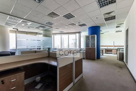 مکتب  للبيع في أبراج بحيرات الجميرا، دبي - Fitted office available in Almas Tower