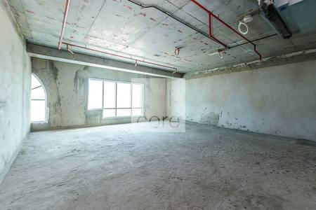 Office for Rent in Jumeirah Lake Towers (JLT), Dubai - Well lit shell and core office Dome Tower