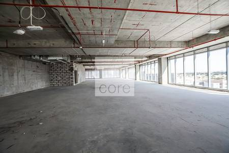 Office for Rent in Jumeirah Lake Towers (JLT), Dubai -  large floor plates in One JLT
