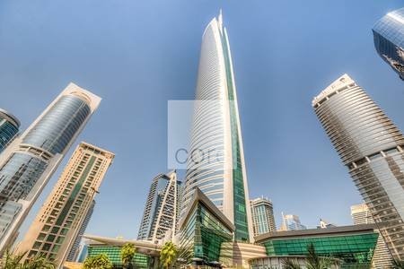 Office for Rent in Jumeirah Lake Towers (JLT), Dubai - Shell and core office near metro I Almas