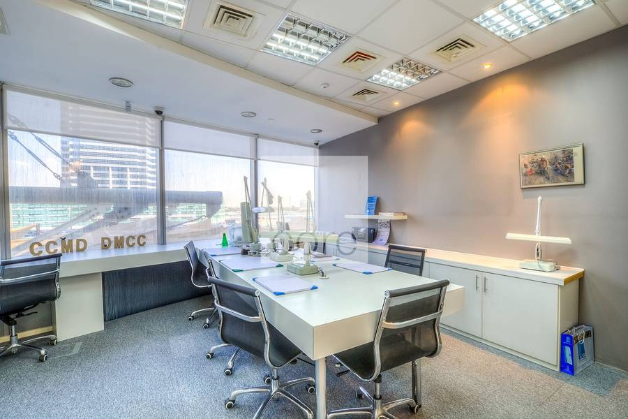 2 Furnished office w/ partitions | Silver Tower