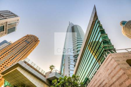 Office for Rent in Jumeirah Lake Towers (JLT), Dubai - Shell and Core Office To Rent   Almas