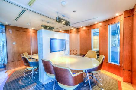 Office for Sale in Jumeirah Lake Towers (JLT), Dubai - Fully fitted and furnished office in Saba 1