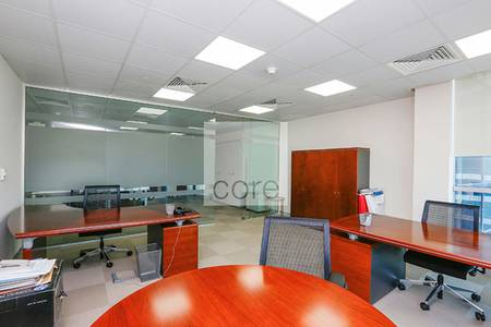 Fitted partitioned and furnished office X2