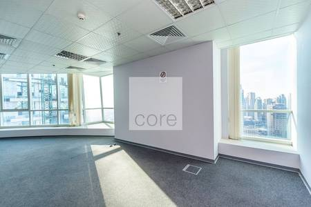 Office for Rent in Jumeirah Lake Towers (JLT), Dubai - Fitted office available in Fortune Tower