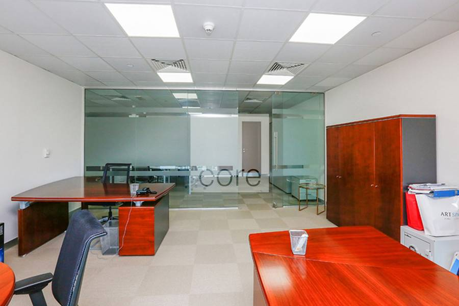 2 Fitted partitioned and furnished office X2