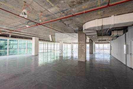 Office for Rent in Downtown Jebel Ali, Dubai - Well located office space in The Galleries