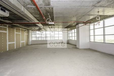 Office for Rent in Jumeirah Lake Towers (JLT), Dubai - Shell and core office in Mazaya BB2