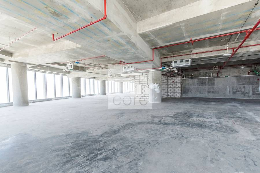2 Spacious shell and core office | Addax Tower