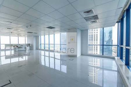 Office for Rent in Jumeirah Lake Towers (JLT), Dubai - Fitted Office with Partitions For Rent X2