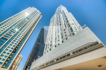 Office for Rent in Jumeirah Lake Towers (JLT), Dubai - Shell and core office in Dome Tower