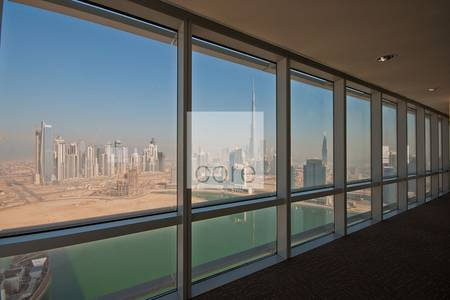 Floor for Rent in Business Bay, Dubai - Fitted full office floor vacant in Ubora