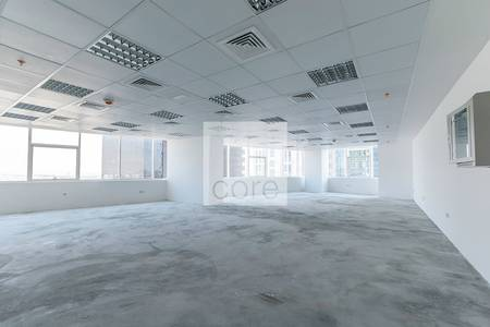 Office for Rent in Jumeirah Lake Towers (JLT), Dubai - Semi fitted office in HDS Business Center