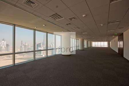 Floor for Rent in Business Bay, Dubai - Grade A full floor office vacant in Ubora