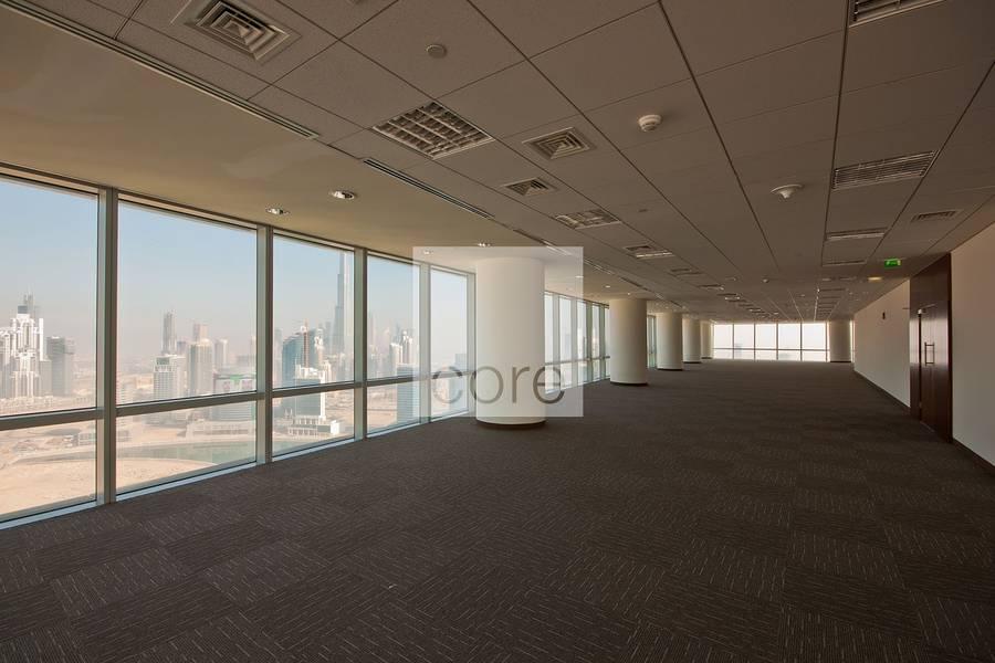 Grade A full floor office vacant in Ubora