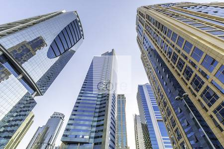 Office for Rent in Jumeirah Lake Towers (JLT), Dubai - Fitted office available in HDS Tower