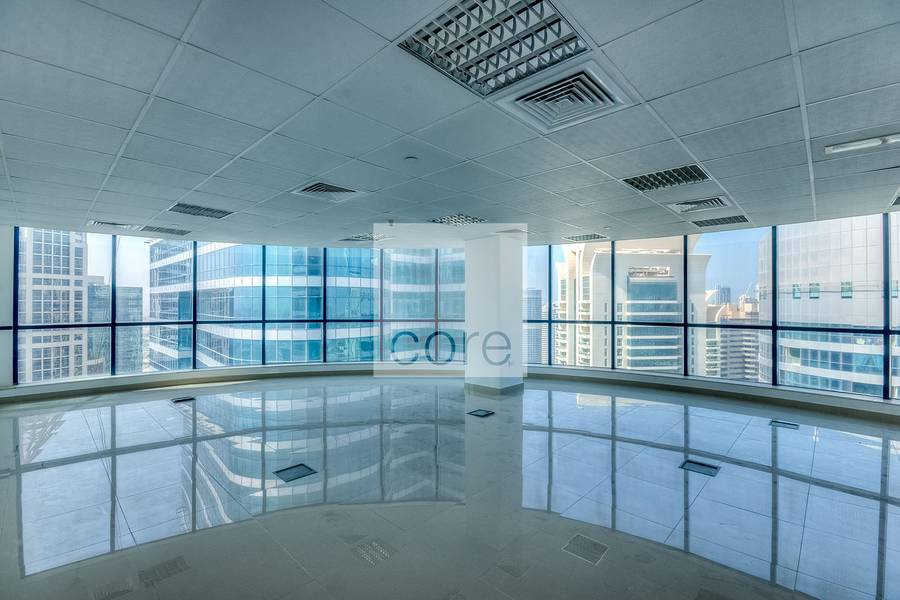 Fitted office available in Jumeirah Bay X3