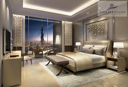 2 Bedroom Apartment for Sale in Downtown Dubai, Dubai - Two Bedrooms | 02 Series | Fountain View 2 | High floor
