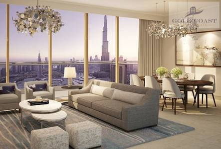 1 Bedroom Flat for Sale in Downtown Dubai, Dubai - One Bedroom | Downtown Views | Higher Floor
