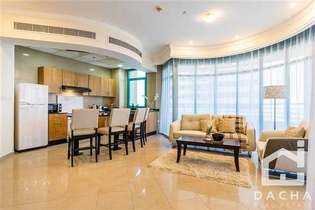 Furnished 2 br  Stunning sea view