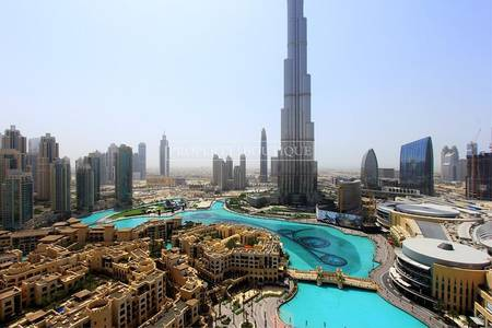 Hotel Pool | Burj and Fountain View | High Floor