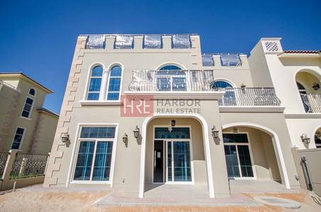 5 Bedroom Villa for Rent in Motor City, Dubai - 5BR + Study and Terrace with Community Park View
