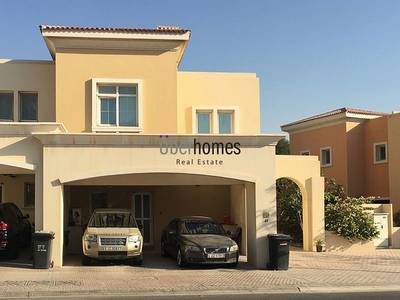 3 Bedroom Townhouse for Sale in Arabian Ranches, Dubai - 3BR Type 1E bright with landscaped garden