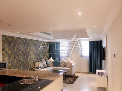 1 Bedroom Apartment for Rent in Al Salam Street, Abu Dhabi - Luxurious Hotel Apt! 1 Bed on Salam Street with Facilities!