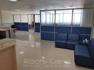 Ideal Rectangle Office Fitted Full Golf View