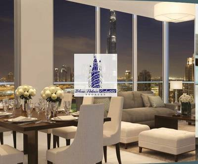 Amazing 3br Apartment In Boulevard Crescent with Burj Khalifa View