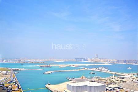 2 Bedroom Apartment for Sale in Dubai Marina, Dubai - Vacant | High Floor | Sea and Palm Views