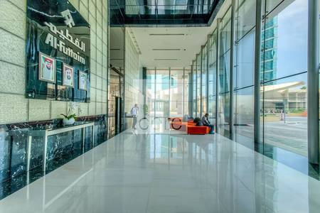 Office for Rent in Dubai Festival City, Dubai - Fitted office for rent | Festival Tower