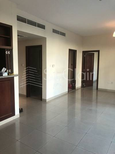 2BR with Balcony + Laundry Fitted Kitchen