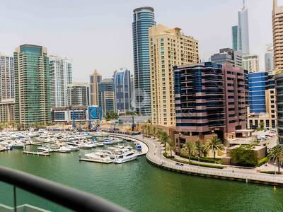 3 Bedroom Flat for Rent in Dubai Marina, Dubai - Marina Wharf 2 - 3 Bed Full Marina View