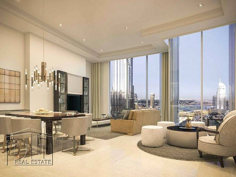 1 2 Bedroom Opera Grand Full Fountain And Burj